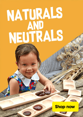 Naturals and Neutrals Menu Promo