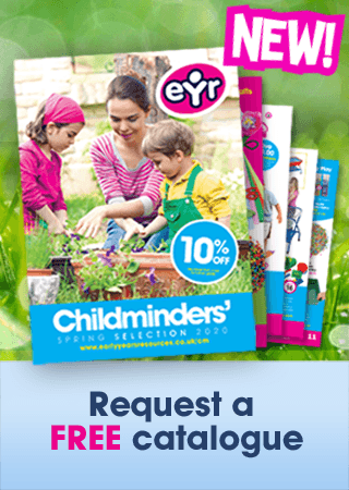 Childminder Spring 2020 Catalogue Menu Promo