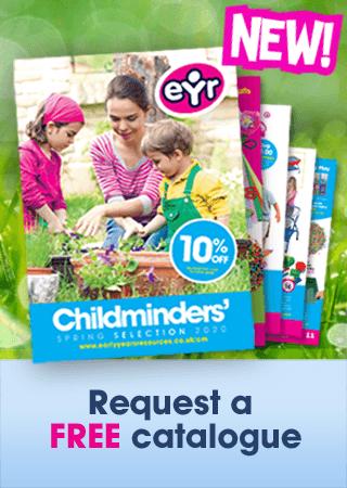 Childminder Spring 2020 Catalogue Menu Promo