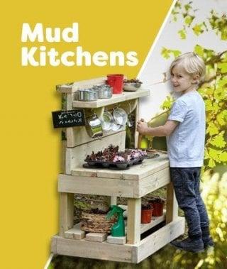 Outdoor - Mud Kitchens