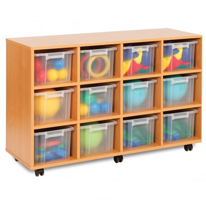 Moneysaver 12 Deep Tray Storage Unit