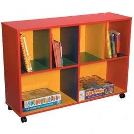 Multi Coloured Storage Unit