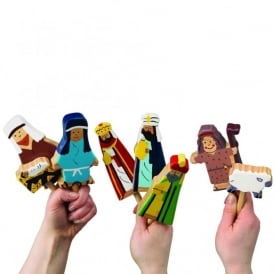 Nativity Wooden Puppets