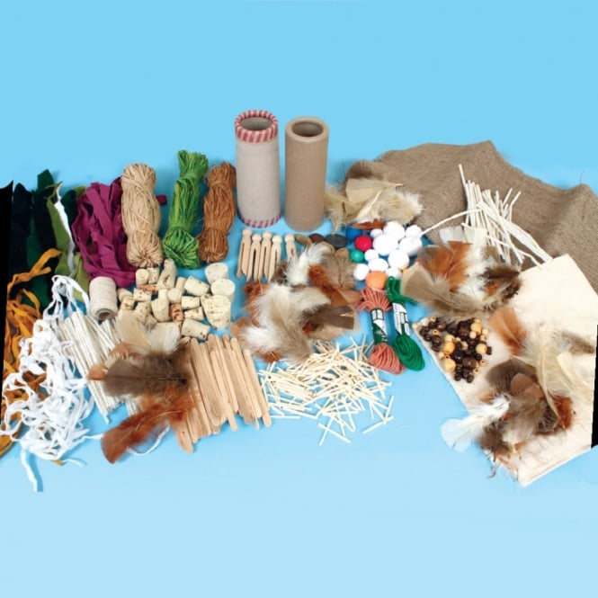 Natural Craft Materials Pack Art Craft From Early Years Resources Uk