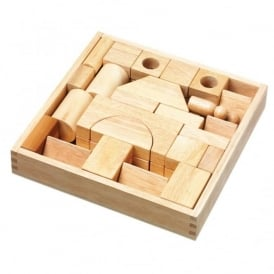 Natural Wooden Building Blocks