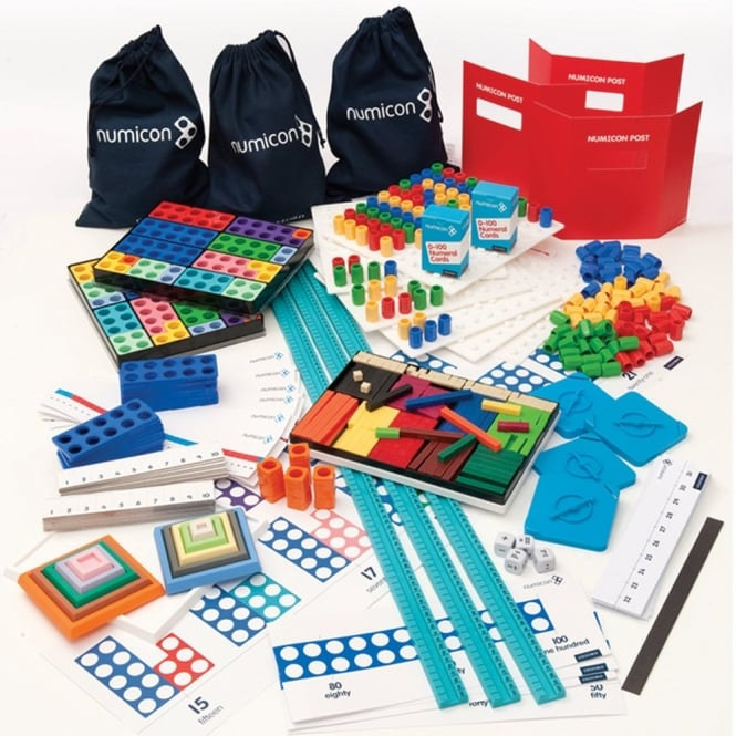 Numicon Starter Apparatus Kit A - Numeracy from Early Years Resources UK