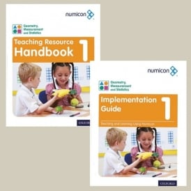 Numicon Teaching Pack - Geometry Measurement And Statistics Age 5-6