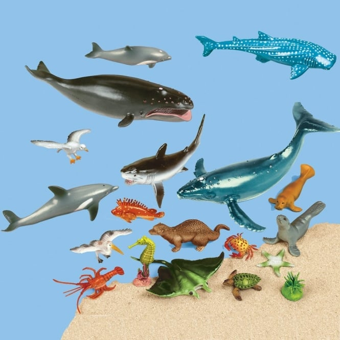 Ocean Animal Figures Collection