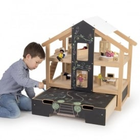Open Play Dolls House