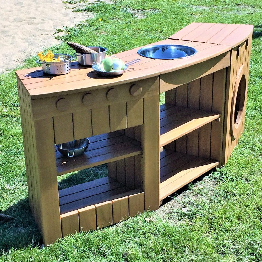 Outdoor Curved Kitchen Set - Outdoor Learning from Early ... on Patio Kitchen Set id=26121