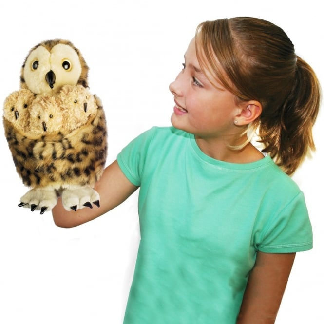 Owl And Babies Storytelling Puppets