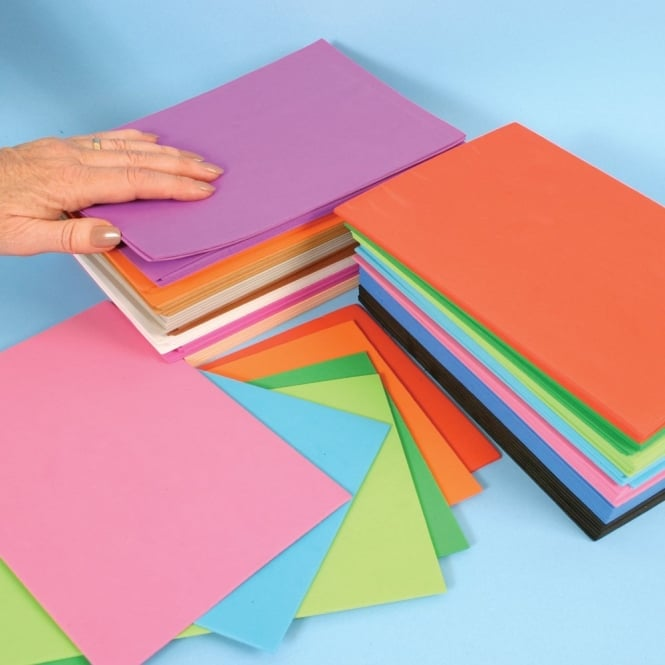 Pack of 100 Foam Sheets