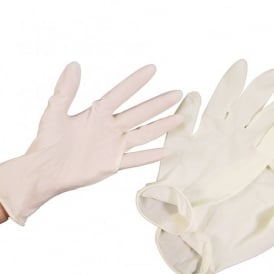 Pack Of 100 Medium Latex Gloves