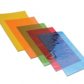 Pack of 48 Assorted A4 Cellophane Sheets