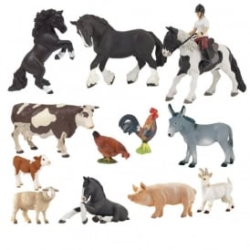Papo Mini Farm Figures