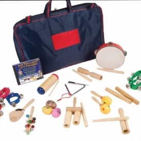 Percussion Set With DVD In Holdall