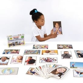 Photo Conversation Cards for Children with Autism and Aspergers