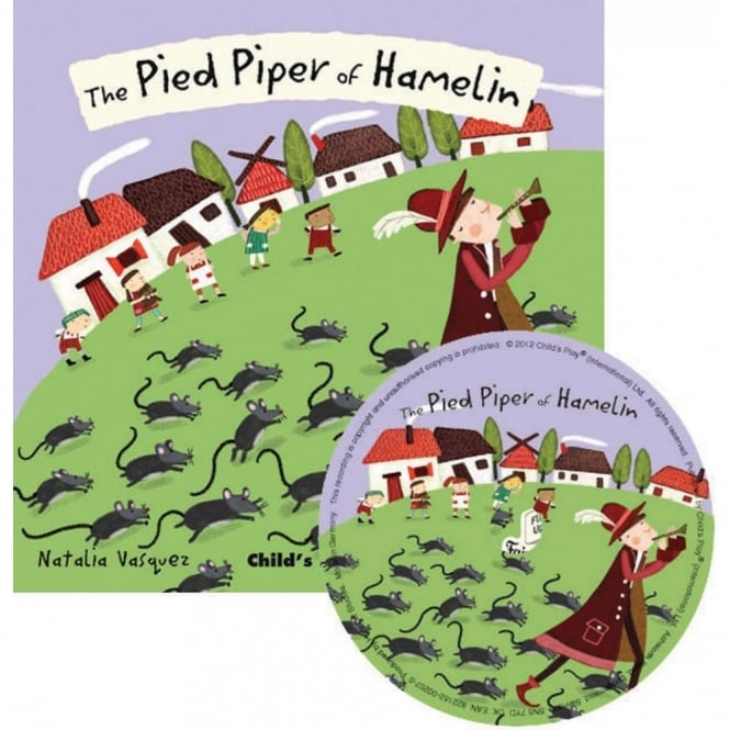 Pied Piper Book with Audio CD
