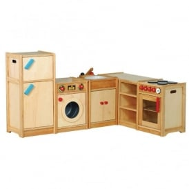 Plain U0026 Simple Wooden Play Kitchen Range Offer