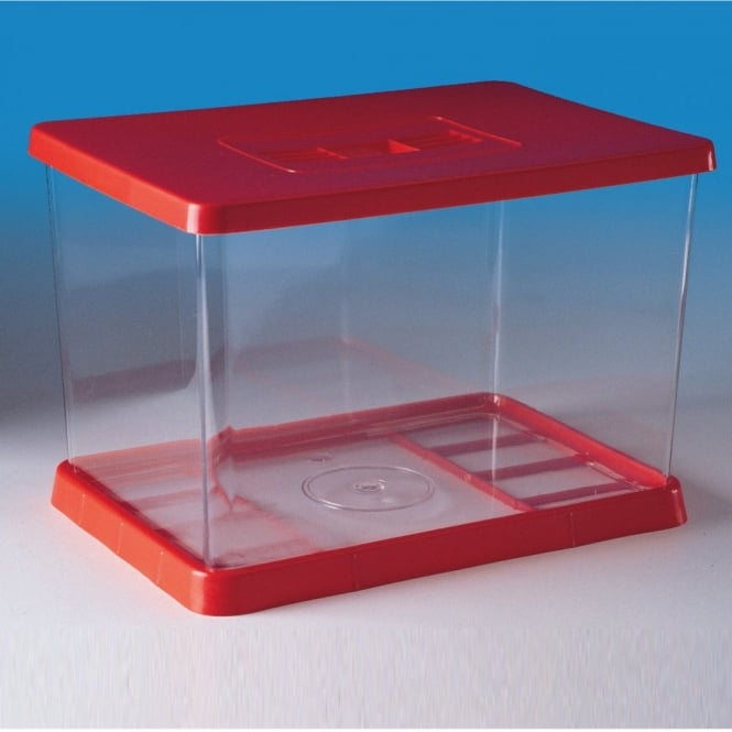 Plastic Aquarium With Lid And Base