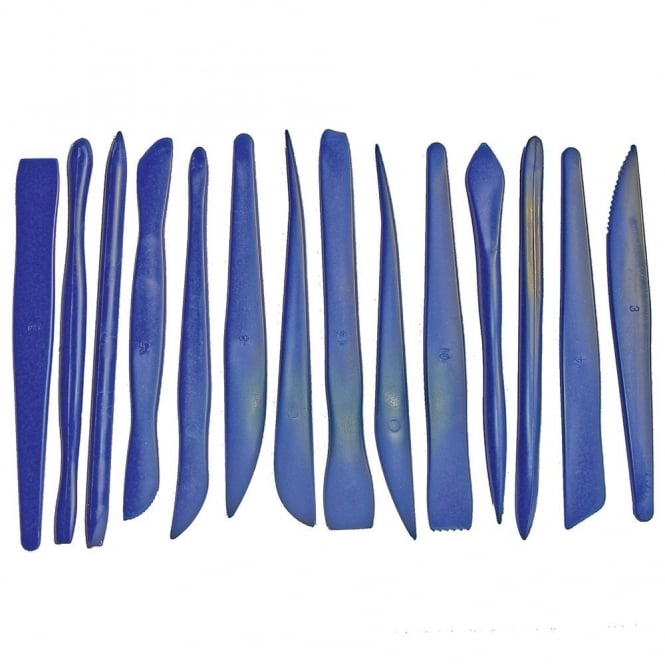 Plastic Clay Tool Set