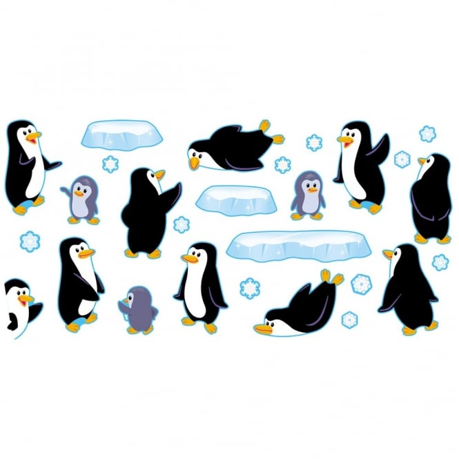 Playful Penguins Bulletin Board Set Art Craft From Early Years