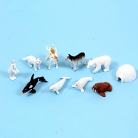 Polar Animal Figures Set