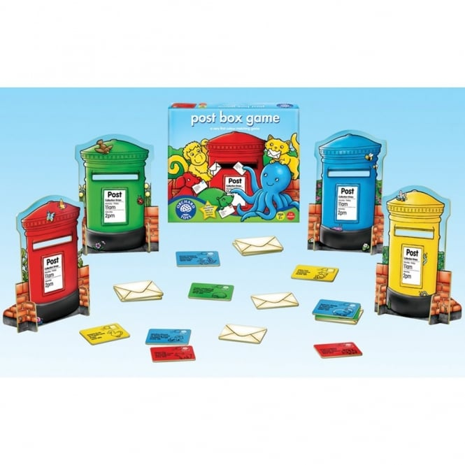 Post Box Game - Numeracy from Early Years Resources UK