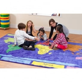 Primary World Explorer Carpet