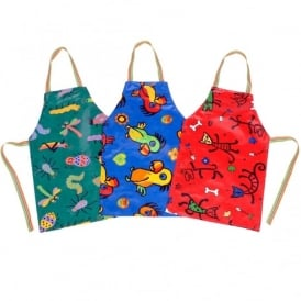 Printed Acrylic Aprons - Small Pack of 3