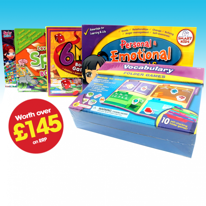Win An Educational Games Pack - Worth Over £145!
