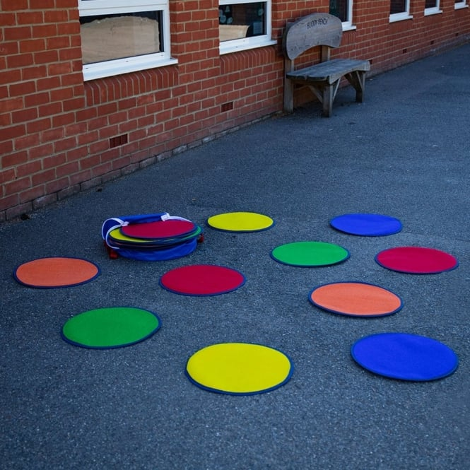 Rainbow™ Circle Mats With Free Holdall Set Of 30
