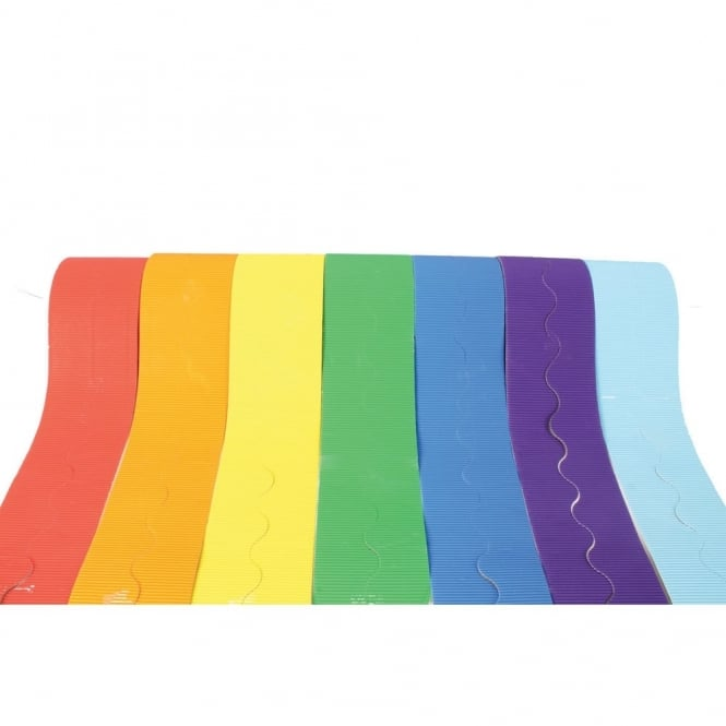 Rainbow Corrugated Border Rolls