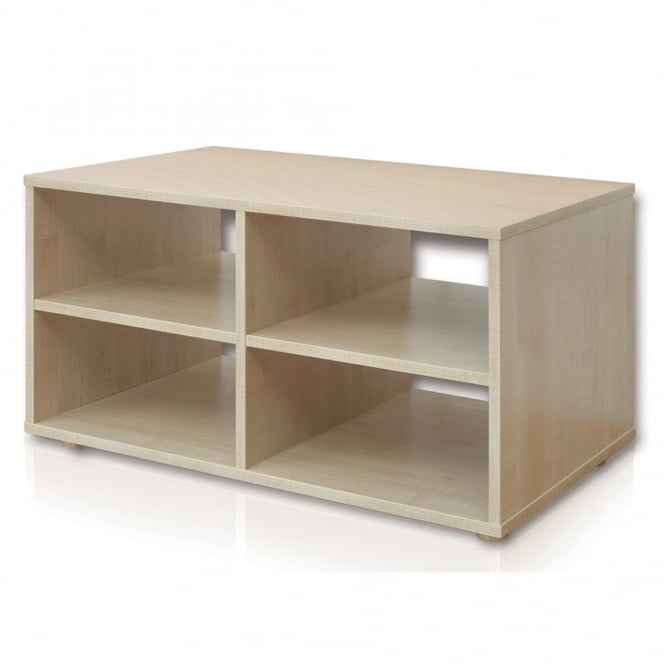 Genial Reading Nook 4 Shelf Storage Unit