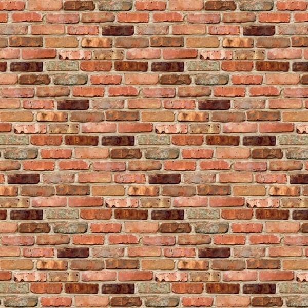 Reclaimed Brick Fadeless Roll (5746-8) - Art & Craft from ...