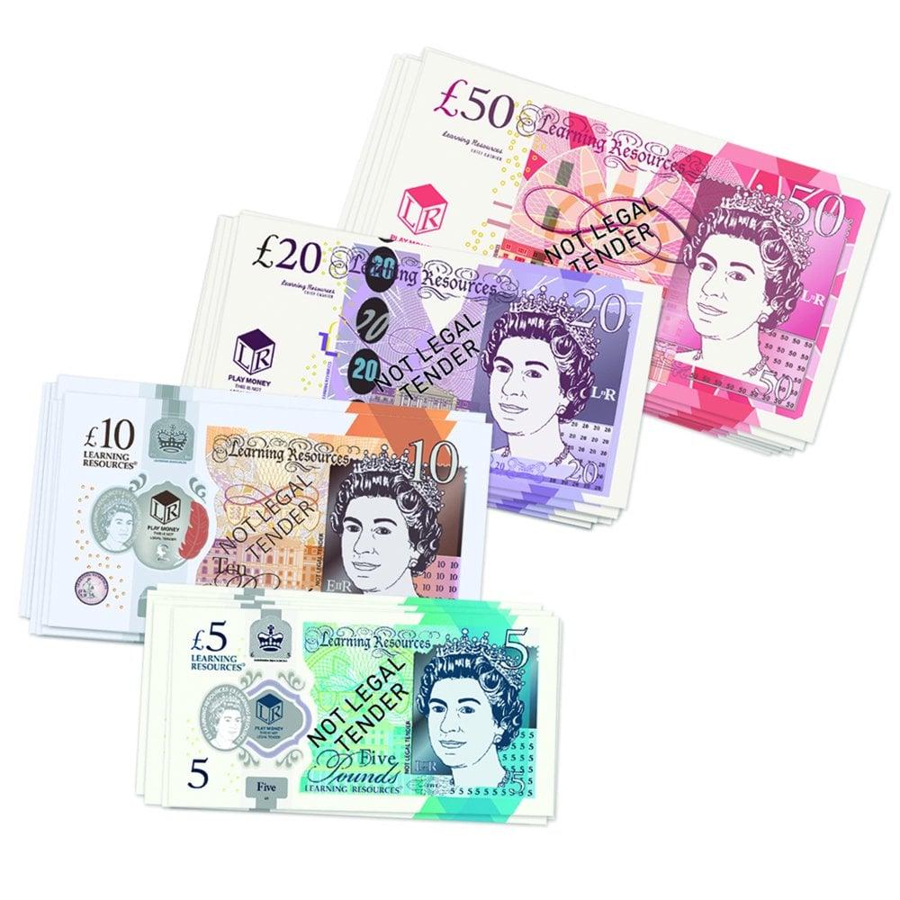 Replica UK Play Money - Bank Notes