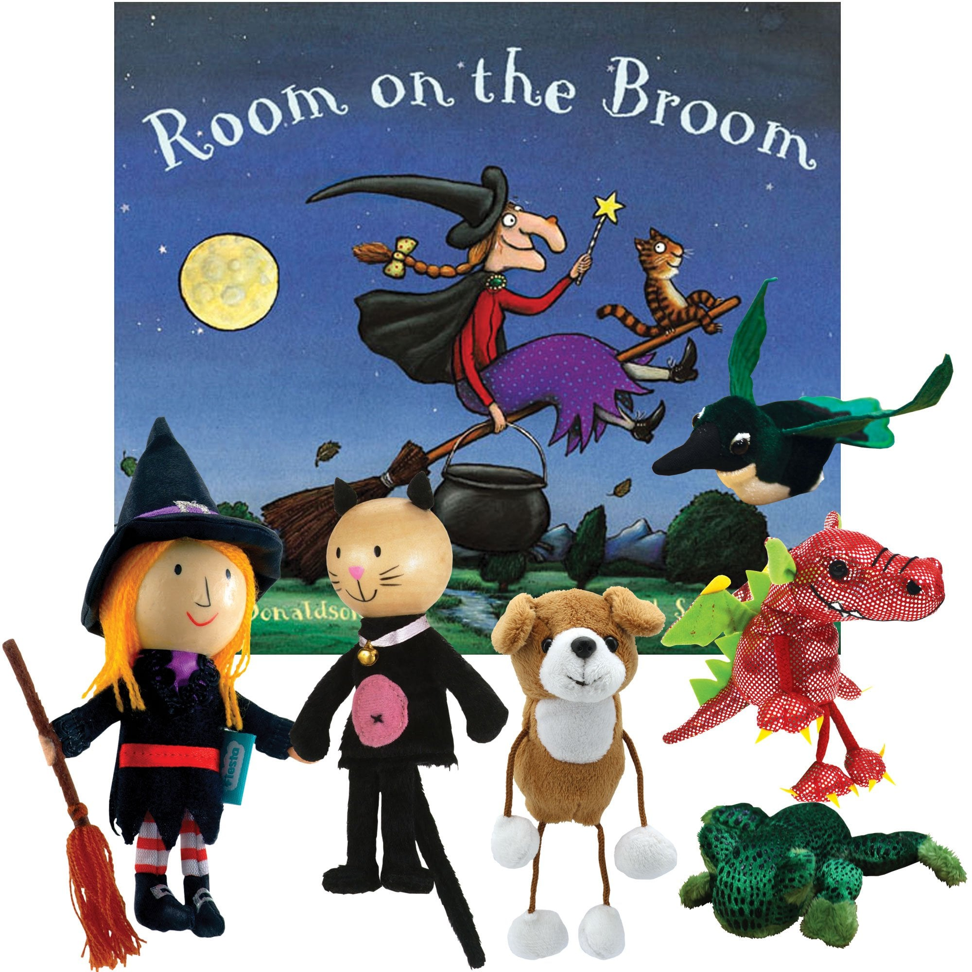 Room On The Broom Story Set Re Festivals From Early Years Resources Uk