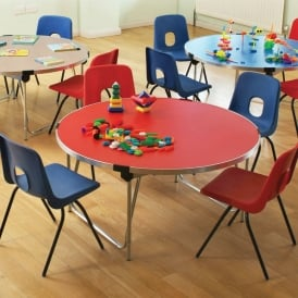 Round Folding Classroom Tables