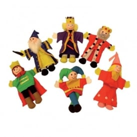 Royalty Finger Puppets Pack Of 6