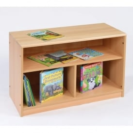 RS Open Bookcase With Back