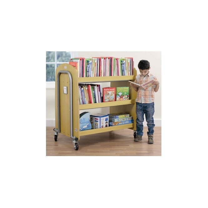 Rugged Library Trolley