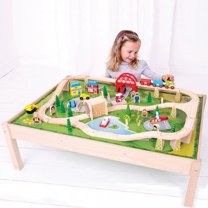 Services Train Set and Table  sc 1 st  Early Years Resources & Services Train Set and Table - Imaginative Play from Early Years ...