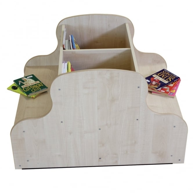 Single Sided Seat & Browser Unit - Maple
