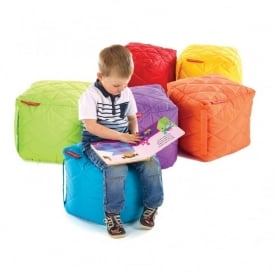 Small Outdoor Quilted Cube - 6 Pack