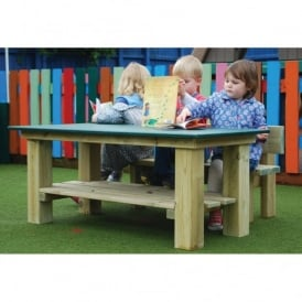 Smooth Top Table And Sturdy Bench Special Offer