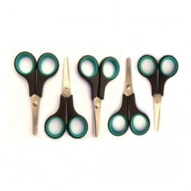 Soft Grip Scissors Left Hand Pack Of 12