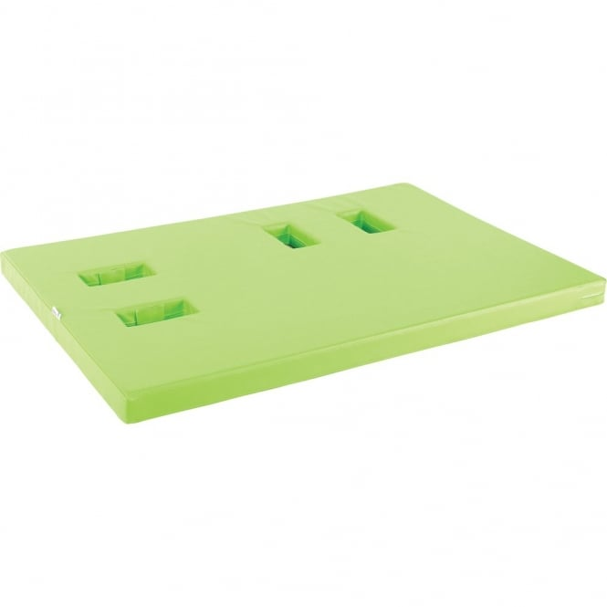 Soft Playground Mattress With Left Sockets