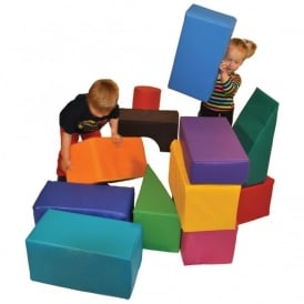 Standard Soft Play Construction Set (13 Pieces)