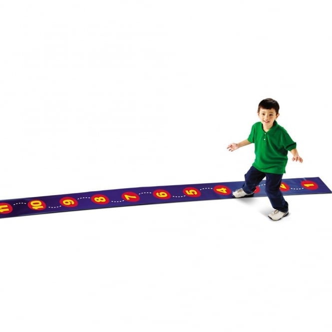 Step By Step Number Line Floor Mat
