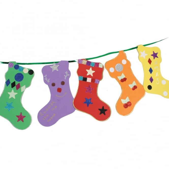 stockings bunting art craft from early years resources uk